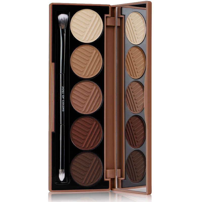 PALETA 5 FARDURI BAKED BROWNS Dose of Colors