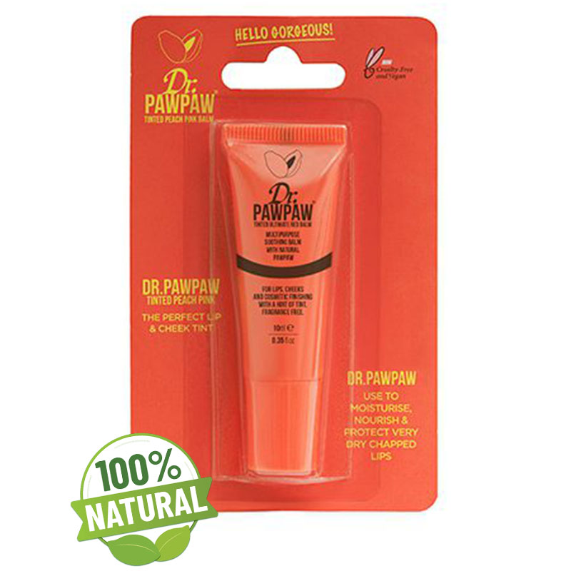 Balsam multifunctional nuanta Peach 10 ml Dr Paw Paw