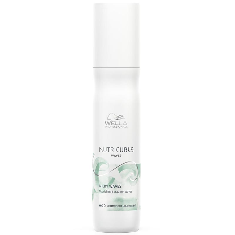 Spray Nutritiv pentru Par Ondulat Nutricurls Milky Waves Nourishing Spray for Waves Wella Professionals